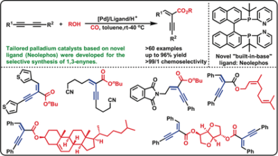 Tailored Palladium Catalysts for Selective Synthesis of Conjugated Enynes by Monocarbonylation of 1,3‐Diynes