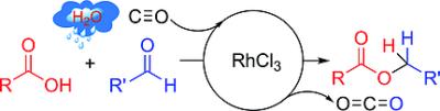 Rhodium‐Catalyzed Reductive Esterification Using Carbon Monoxide as a Reducing Agent