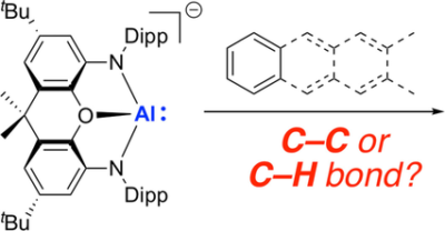 Rationalizing the AlI‐Promoted Oxidative Addition of C−C Versus C−H Bonds in Arenes