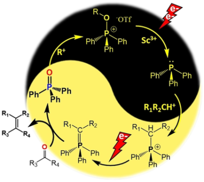 A Systems Approach to a One‐Pot Electrochemical Wittig Olefination Avoiding the Use of Chemical Reductant or Sacrificial Electrode