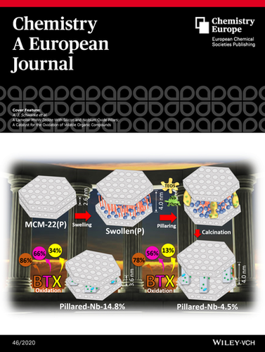 A Lamellar MWW Zeolite With Silicon and Niobium Oxide Pillars: A Catalyst for the Oxidation of Volatile Organic Compounds