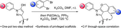 One‐Pot Two‐Step Synthesis of Isochromene‐Fused CF3‐Substituted Pyrazoles