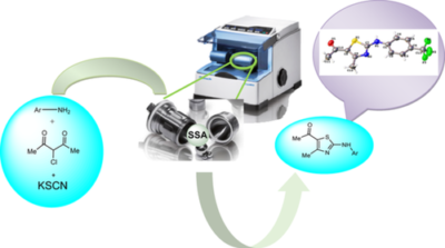 Mechanochemical synthesis of 5‐acetylthiazole: A step toward green and sustainable chemistry