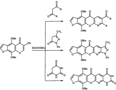Synthesis and antimicrobial evaluation of the novel heteroannulated furo[3′,2′:6,7]chromeno[2,3‐b]pyridines: Part 1