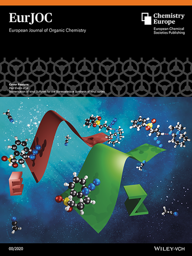 Cover Feature: Isomerisation of Vinyl Sulfones for the Stereoselective Synthesis of Vinyl Azides (Eur. J. Org. Chem. /2020)