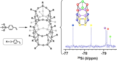 Large Polyhedral Oligomeric Silsesquioxane Cages: The Isolation of Functionalized POSS with an Unprecedented Si18O27 Core