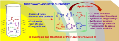 The Riveting Chemistry of Poly‐aza‐heterocycles Employing Microwave Technique: A Decade Review