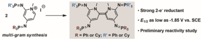 Bis(Iminophosphorano)‐Substituted Pyridinium Ions and their Corresponding Bispyridinylidene Organic Electron Donors