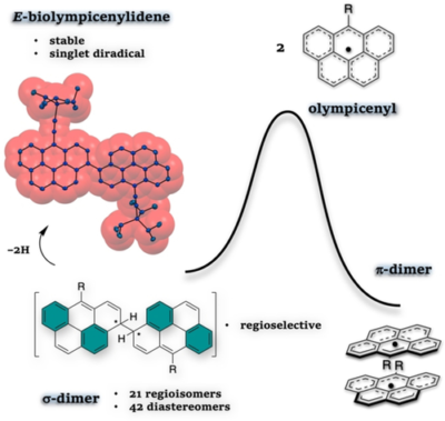 Unveiling the Hidden σ‐Dimerization of a Kinetically Protected Olympicenyl Radical