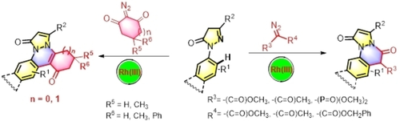 Rhodium-Catalyzed [4+2] Annulation of N-Aryl Pyrazolones with Diazo Compounds To Access Pyrazolone-Fused Cinnolines