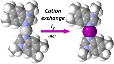 Iodine(I) and Silver(I) Complexes of Benzoimidazole and Pyridylcarbazole Derivatives